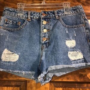 Forever 21 Size 30 Denim Shorts